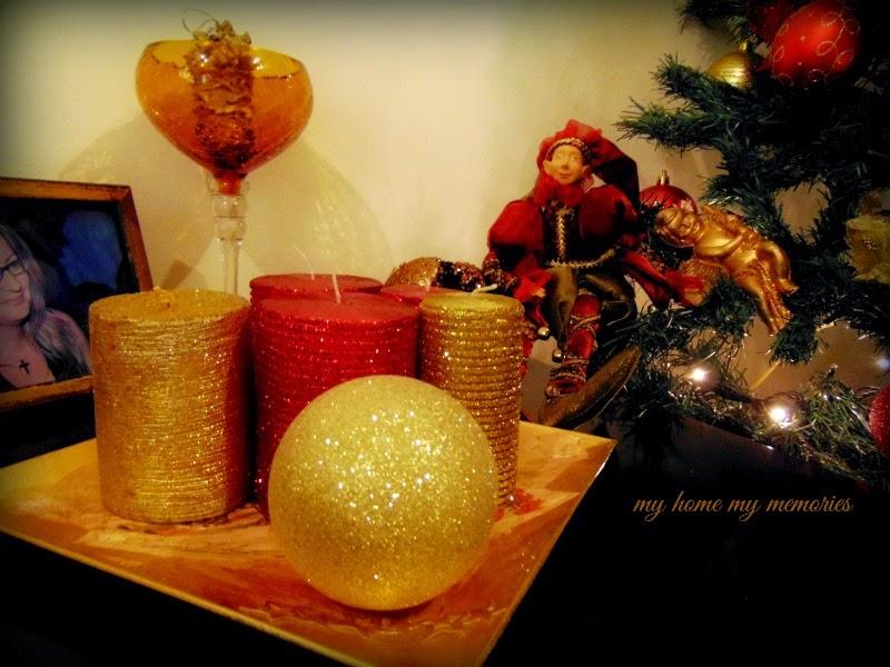 χριστουγεννιάτικα-κεριά-με-χρυσοσκονη