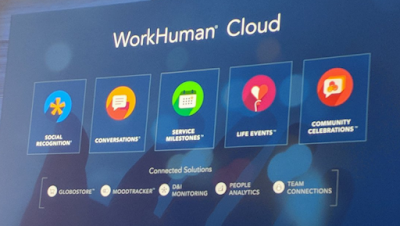 Globoforce WorkHuman 2018 Constellation Research Holger Mueller