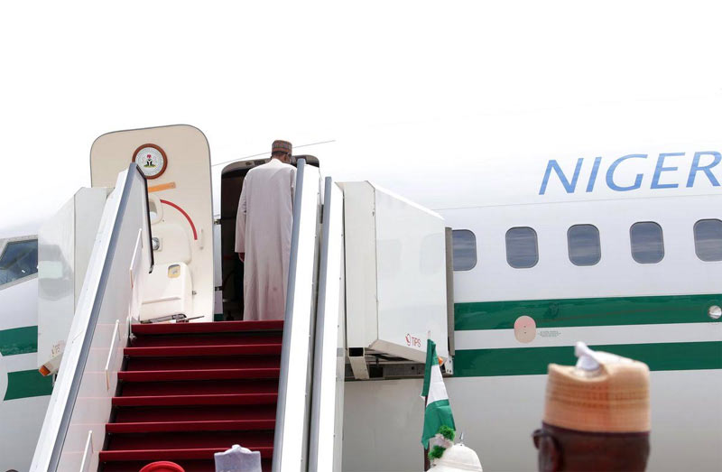 President Buhari departs Nigeria for United Nations General Assembly in New York
