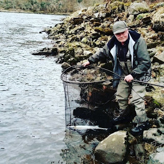 Salmon Fishing Scotland Tay, Perthshire Salmon fishing report w/e 17th March 2018.