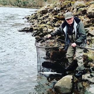 Salmon Fishing Scotland Tay, Perthshire Salmon fishing report w/e 17th March 2018.