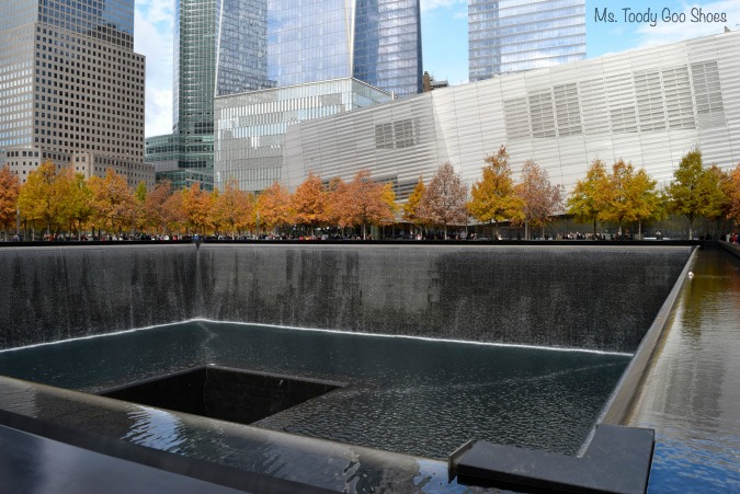 9/11 Memorial Reflecting Pools, New York City --- Ms. Toody Goo Shoes