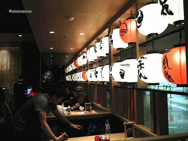 Suasana Ippudo Ramen (Restoran Jepang) Central Park
