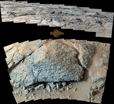 "Sol 306 Curiosity Right Mastcam (M-100) ""Point Lake"" Outcrop"