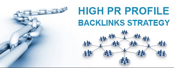 High PR Profile Backlinks