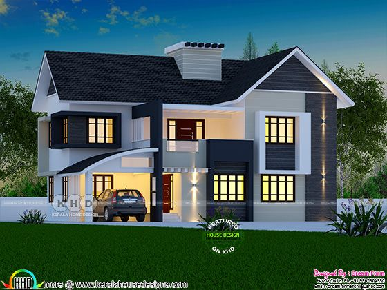 2081 square feet beautiful 4 BHK home