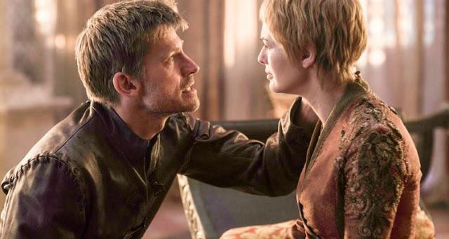Jamie y Cersei, sexta temporada de 'Juego de Tronos'