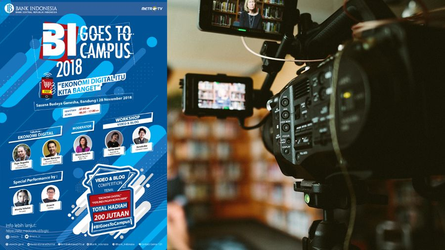 lomba video dan foto bi goes to campus