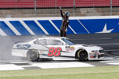 Chase Briscoe Gets First #NASCAR Xfinity #Win