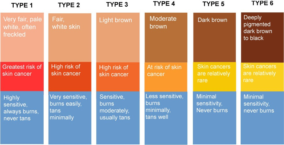 fitzpatrick skin type test pdf