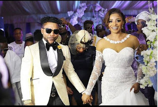Ortisefemi and his wife, Nabilla