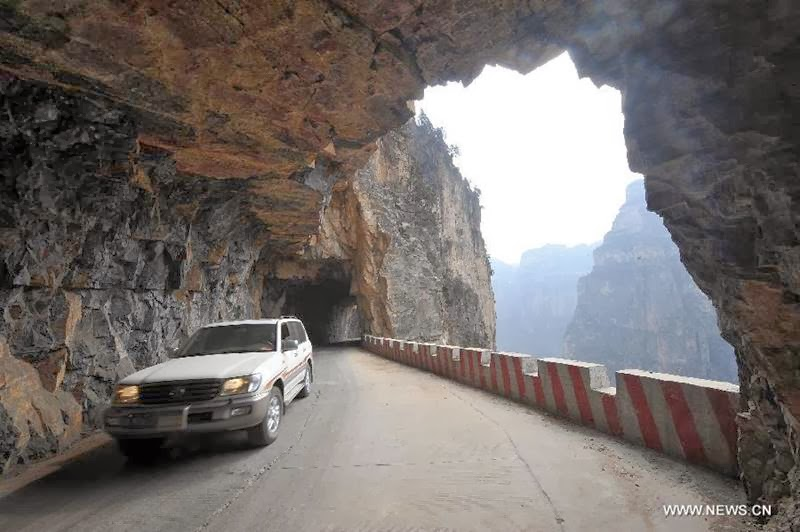 Guoliang Tunnel in Henan Povince-China, Guoliang tunnel road China, Guoliang Tunnel, Guoliang tunnel road china, Guoliang tunnel road, guoliang