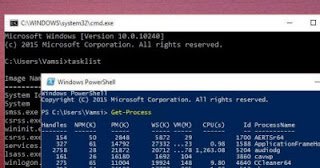 differenza prompt dei comandi e powershell
