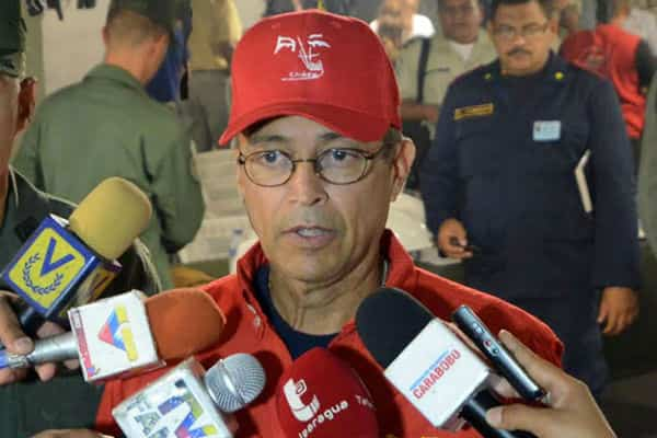 ministro del Poder Popular para la Energía Eléctrica, M/G Luis Motta Domínguez