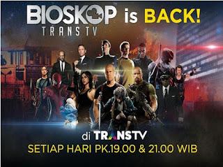 Daftar Dan Jadwal Film Film Di Bioskop Trans Tv Pada Bulan September 2016 Info Artis Musik Dan Televisi