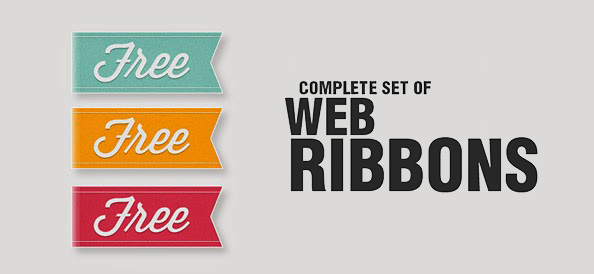 40+ Best Free Ribbons Vector & PSD Files For Your Designs