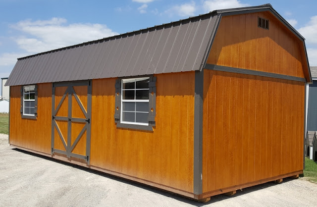 Wolfvalley Buildings Storage Shed Blog Brand New Lofted