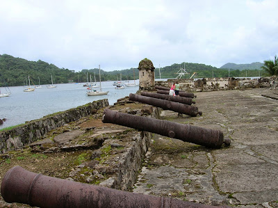 Fuerte de Santiago, Portobelo, Panamá, round the world, La vuelta al mundo de Asun y Ricardo, mundoporlibre.com