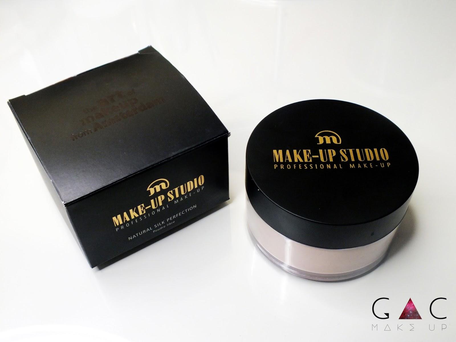 MAKE-UP STUDIO puder Natural Silk Perfection.
