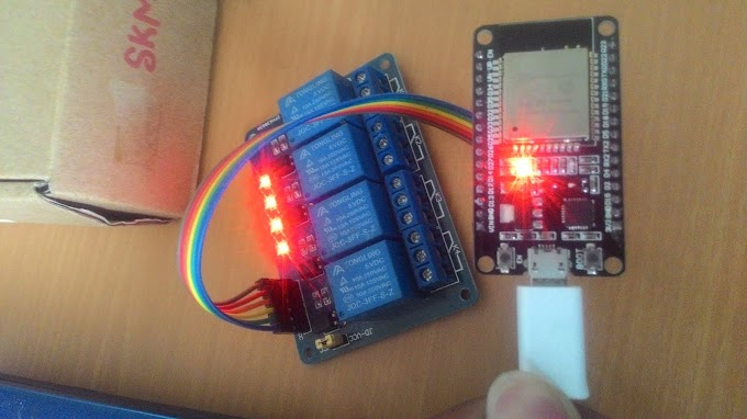 """Tutorial IoT - Cara Mengendalikan Relay Menggunakan ESP32 + Blynk """"WiFi Connectify"""""""