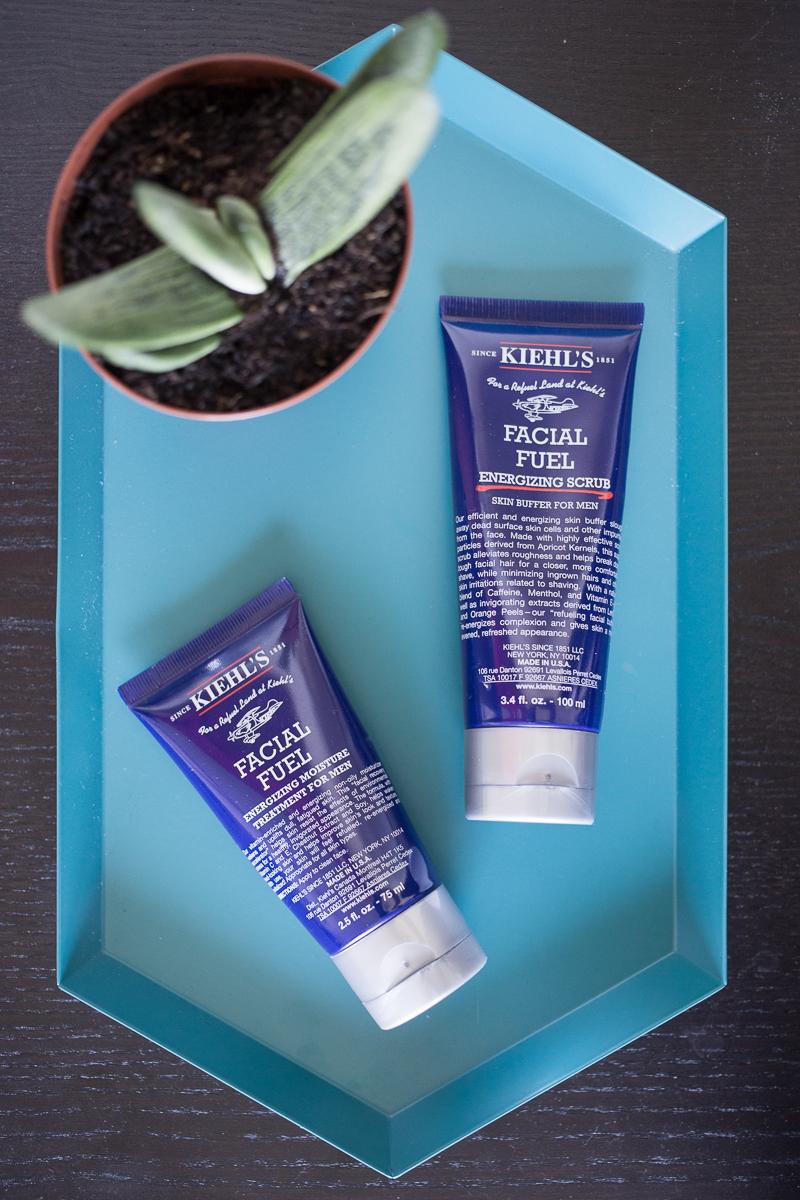 My Boyfriend's Skincare Routine Kiehls Facial Fuel Review