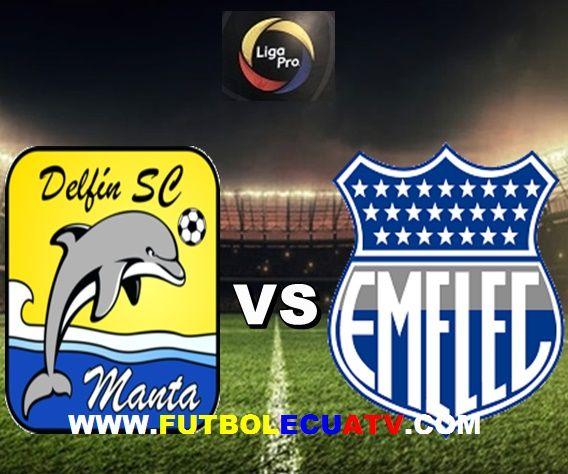 Delfín choca ante Emelec en vivo a partir de las 20:00 horario local a disputarse en el estadio Jocay de Manta prosiguiendo la fecha once del campeonato ecuatoriano, siendo el árbitro principal Vinicio Eduardo Espinel Espín con emisión de los canales oficiales DirecTV Sports, CNT y GolTV.