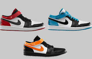 5616db5b16e The Air Jordan 1 Retro Low gets another new look in 2013. This time  incorporating a strap into the mix.