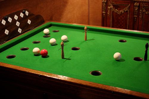 Black Velvet Chair Leather Club And Ottoman Set Rose Wood Furniture: Bar Billiards Table
