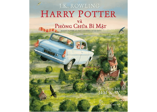 Sách Harry Potter tập 2  - Harry Potter và phòng chứa bí mật