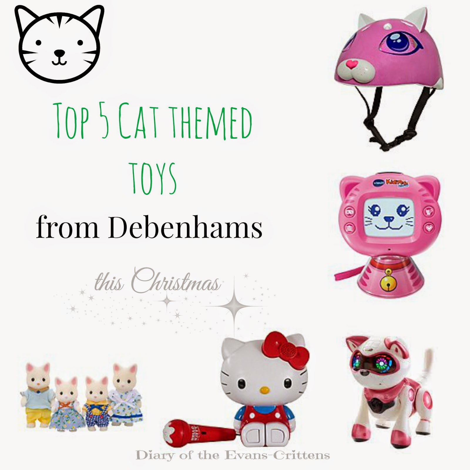 , Top 5 Cat Themed Toys for Christmas #foundit #wishlist