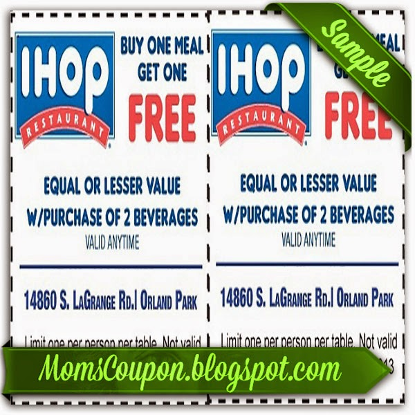 Free Printable Ihop Coupons Sources | Free Printable ...