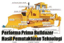Performa Prima Bulldozer Hasil Pemutakhiran Teknologi