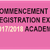 UNN 2017/18 Registration Exercise Commencement- [New & Old Students]