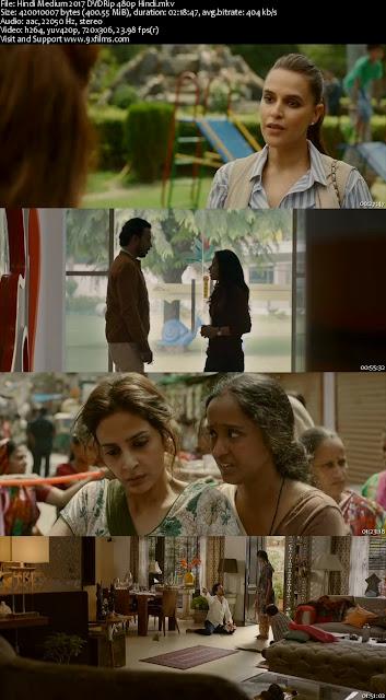 Hindi Medium 2017 DVDRip 480p Hindi
