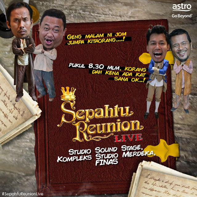 Sepahtu Reunion Live Episod 1 - Tonton Full Episod