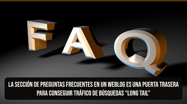 Publicar preguntas y respuestas en la sección FAQs para conseguir tráfico en búsquedas por voz