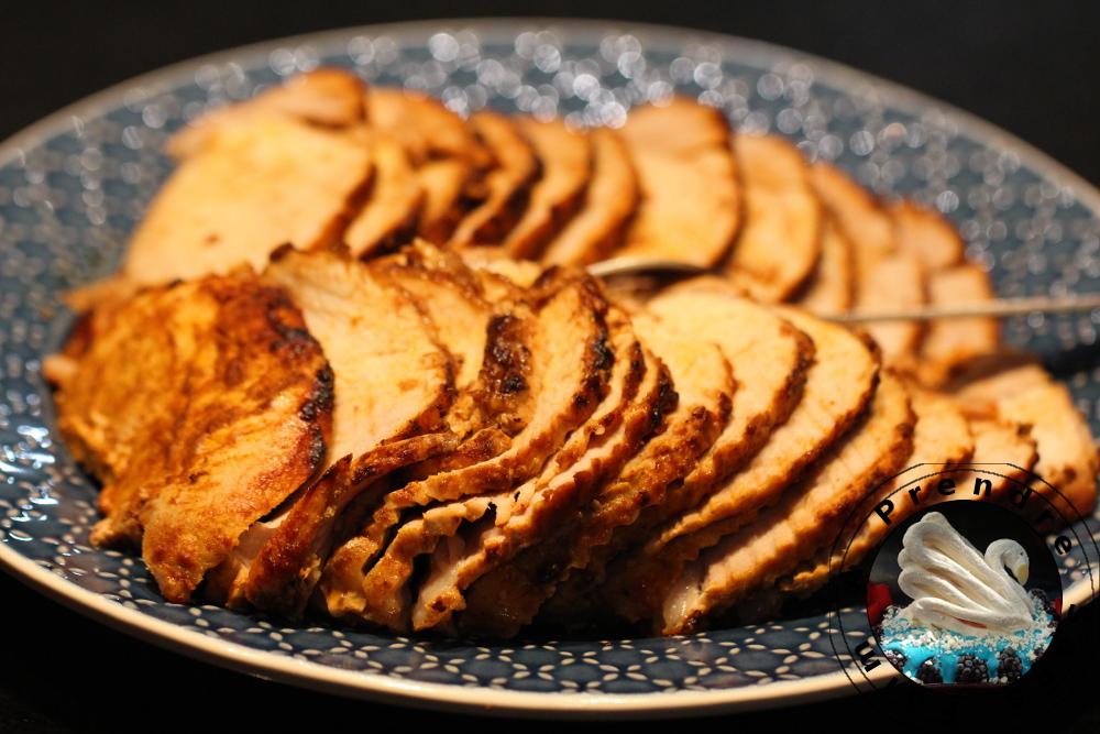 Rôti de porc au paprika fumé