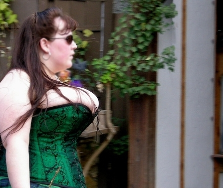 Corsets and boobs