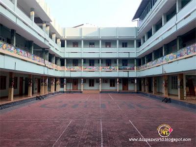SJCC campus courtyard-HuesnShades