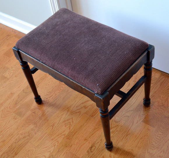 Wooden Stool Antique Old Bench