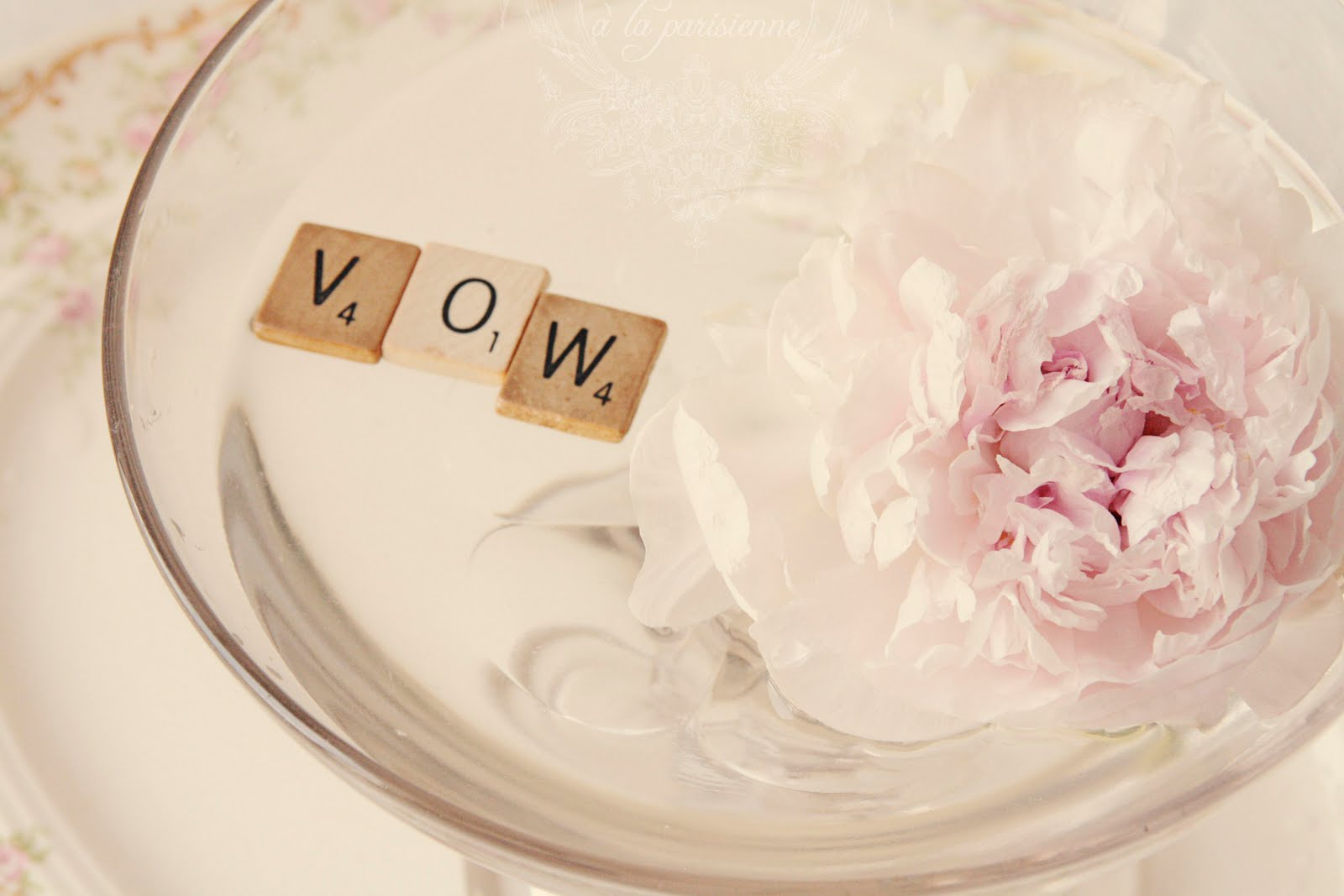 Pink Vows-Wedding Centerpiece & Winners