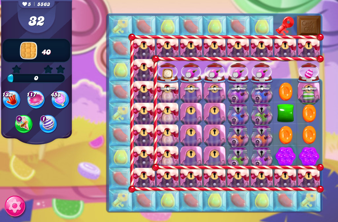 Candy Crush Saga level 5563
