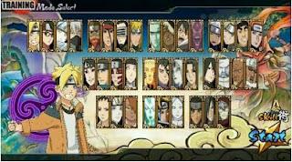 Naruto Senki Boruto Generation Mod Full Character Apk for android