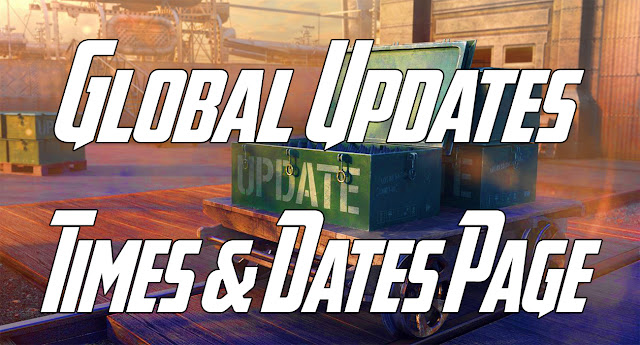 WoWs Gamer Blog News: New Page Added to WGB - Global Updates Times and Dates