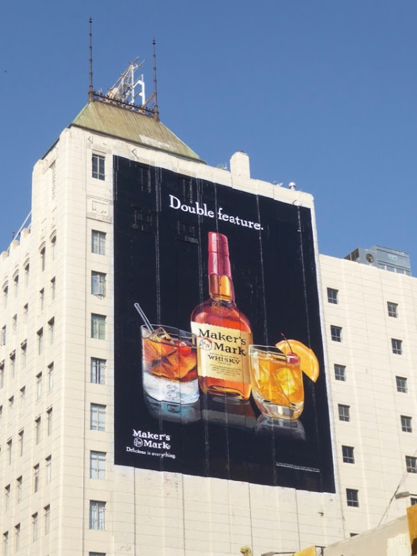 Giant Double feature Makers Mark billboard