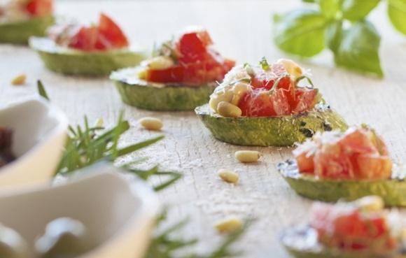Bruschetta De Zucchini