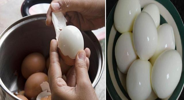 Keren Nih!  Tips Mudah Telur Rebus  Agar Tetap Mulus Saat Kulitnya Dikupas
