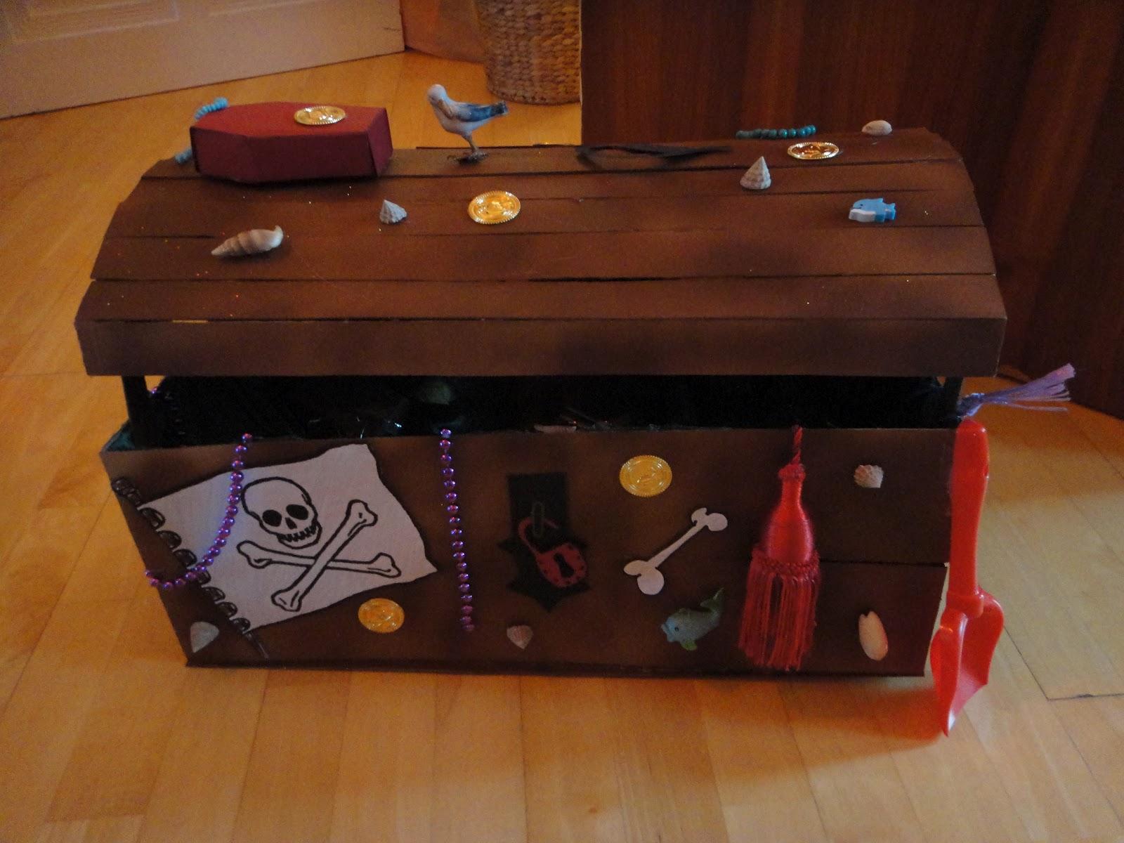basteln stempeln stanzen schatztruhe oder schatzkiste. Black Bedroom Furniture Sets. Home Design Ideas