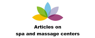 Articles on spa and massage centers