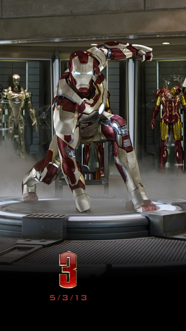 Hd Wallpapers Iron Man 3 For Iphone 5 Hd Wallpapers